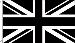 Black/White Union Jack
