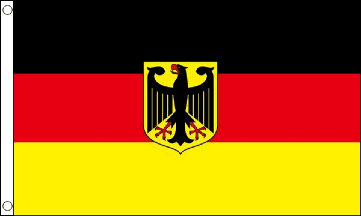German State Flag - 5'x8'