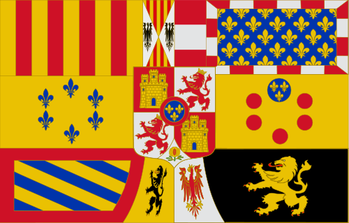 Royal Banner of Spain 1761 - 1931