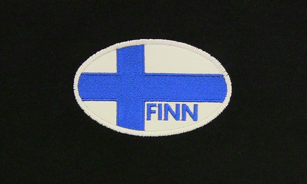 Finnish Flag Polo Shirt