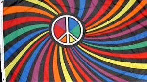 Psychedelic Peace Flag