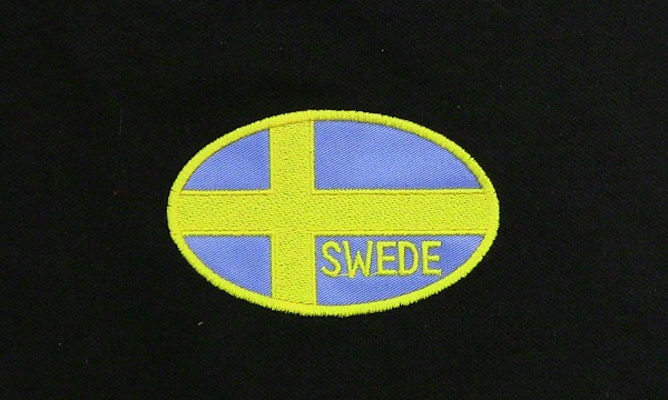 Swedish Flag Polo Shirt