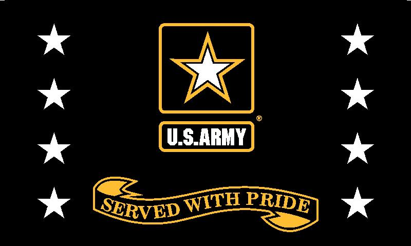 Army - Served With Pride - Black
