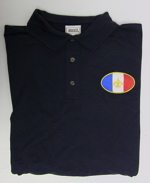French Flag Polo Shirt (Premium)
