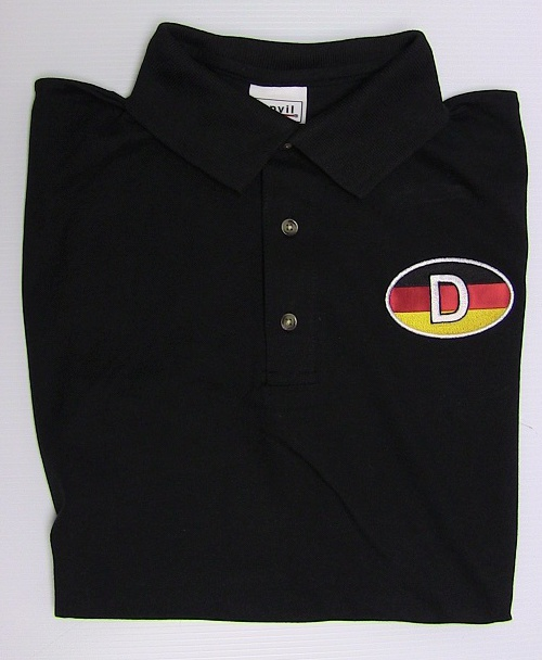 German Flag Polo Shirt