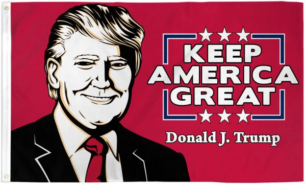 Trump - Keep America Great - Premium Poly