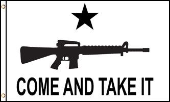 Come And Take It - AR-15 - Premium Poly
